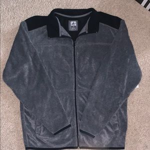 NWT Men's fleece zip up M